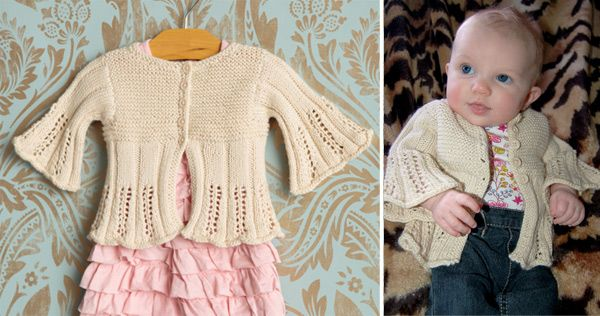 Children s Cardigan Knitting Patterns : Free Baby and Toddler Sweater Knitting Patterns In the Loop Knitting