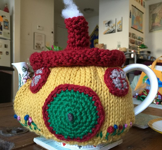 Teapot Cozy Knitting Patterns In The Loop Knitting