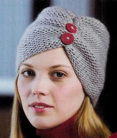 Knitted Turban Pattern : Turban Hat Knitting Patterns In the Loop Knitting