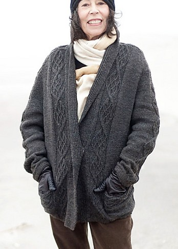 Knitted Jacket Patterns Free Womens : Jacket and Coat Knitting Patterns In the Loop Knitting