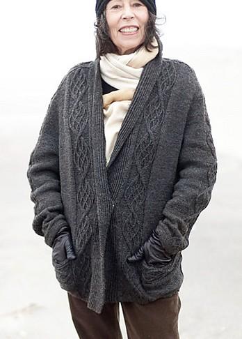 Jacket Knitting Patterns : Jacket and Coat Knitting Patterns In the Loop Knitting