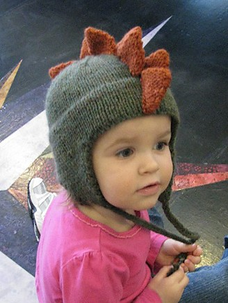 Baby Dinosaur Knitting Pattern : Dinosaur Knitting Patterns In the Loop Knitting