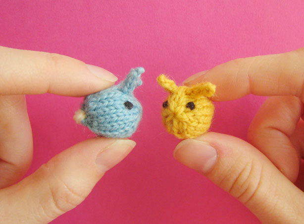 Tiny Baby Knitting Patterns Free : Teeny Toy Knitting Patterns In the Loop Knitting