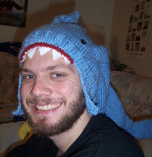 Shark Hat Free Knitting Pattern