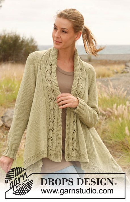 Timeless Grace Cardigan Free Knitting Pattern