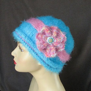 in the bloom free hat knitting pattern