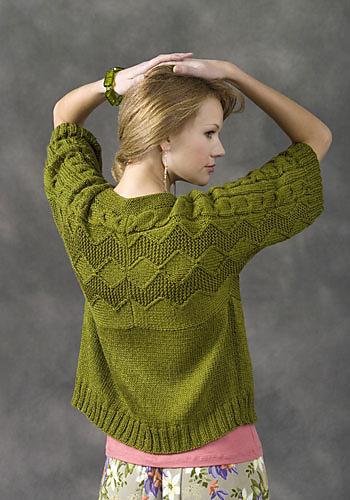 Short Sleeve Cardigan Knitting Patterns In the Loop Knitting