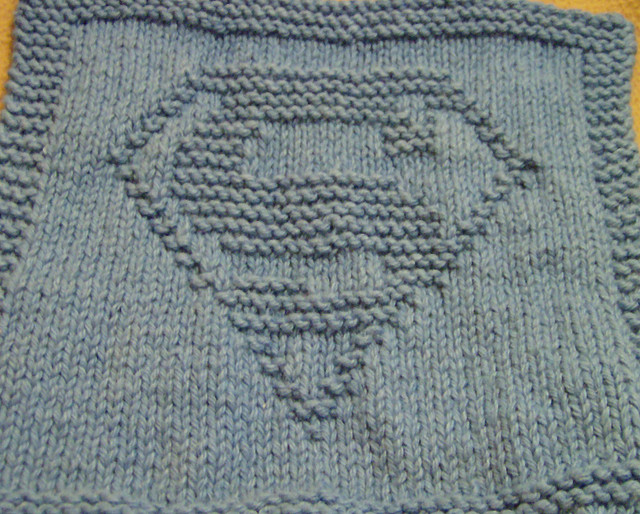 Hero Cloth Free Knitting Pattern