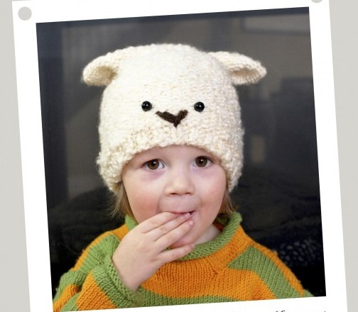 Quick And Easy Knit Sheep Hat 783x1024