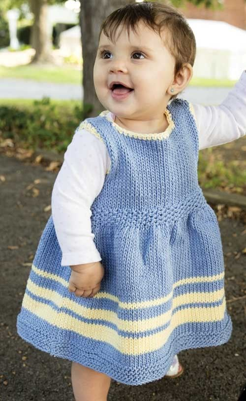 Knitting Pattern Child Dress : Dresses and Skirts for Children Knitting Patterns In the Loop Knitting