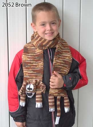 Easy Dog Scarf Knitting Kit