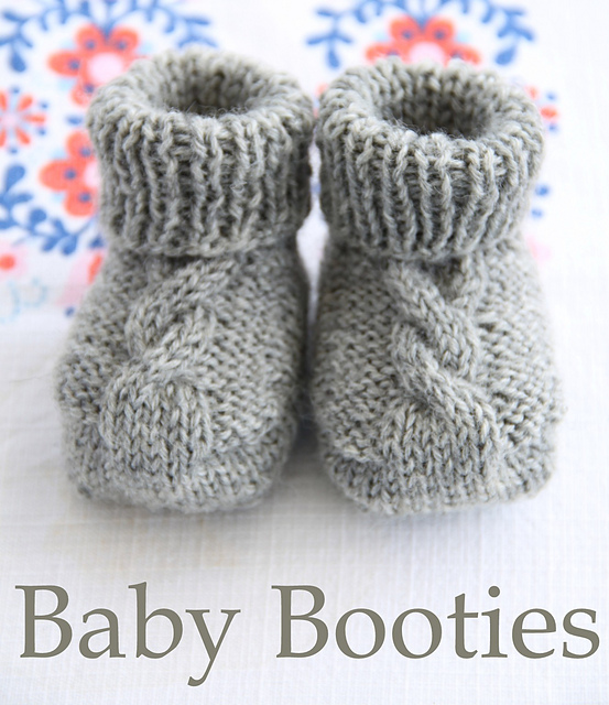 Knit Bootie Pattern : Baby Bootie Knitting Patterns In the Loop Knitting