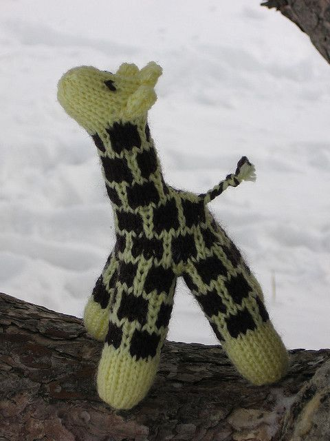 Knitting Pattern Giraffe : Wild Animal Knitting Patterns In the Loop Knitting
