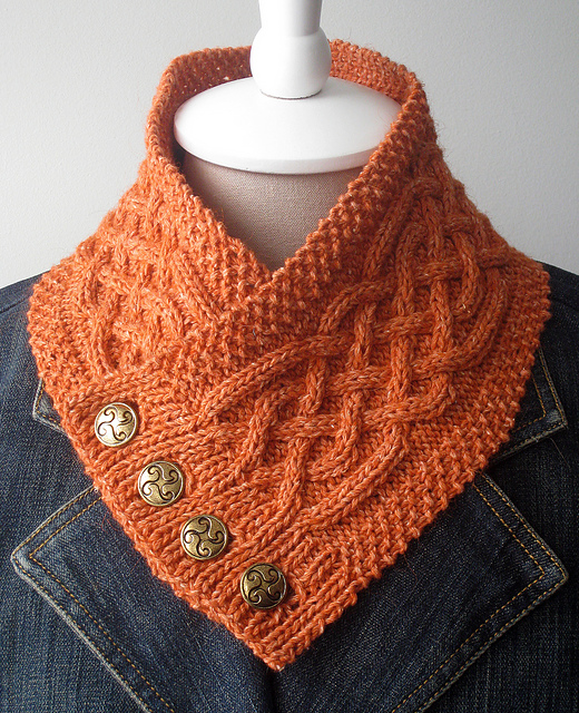 Free Knitting Patterns For Cowls And Neck Warmers : Neckwarmer Knitting Patterns In the Loop Knitting