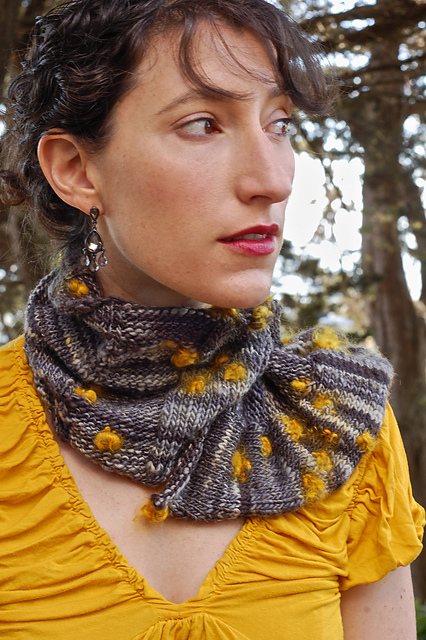 Free knitting pattern for Purlieu neck warmer and more neck warmer knitting patterns