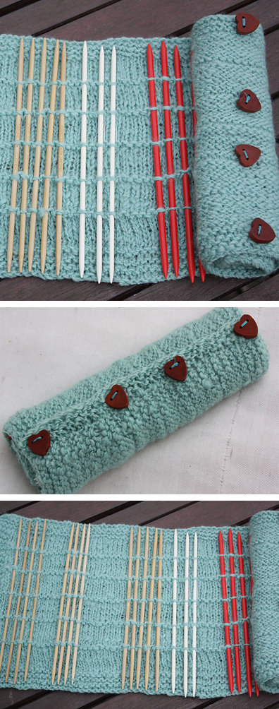 Knitting Needle Roll Pattern : Craft Tool Knitting Patterns In the Loop Knitting