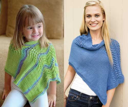 Knitting Patterns for Matching Parent and Child Sets In the Loop Knitting