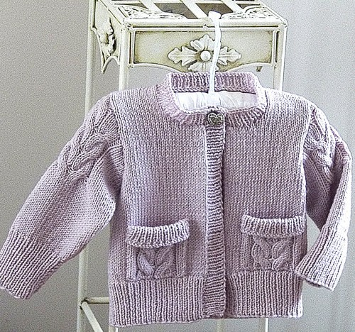 Knitting Pattern Cardigan For 18 Months : Cardigans for Children Knitting Patterns In the Loop Knitting