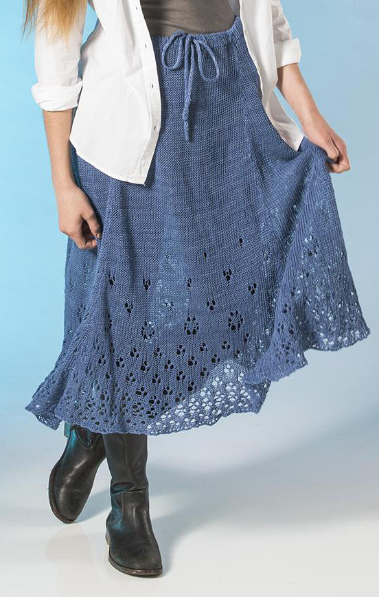 Knit Skirt Pattern : Dress and Skirt Knitting Patterns In the Loop Knitting