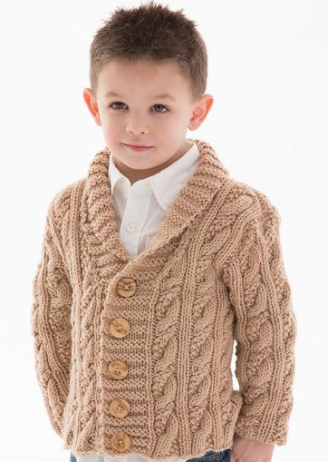 Children s Cardigan Knitting Patterns : Cardigans for Children Knitting Patterns In the Loop Knitting