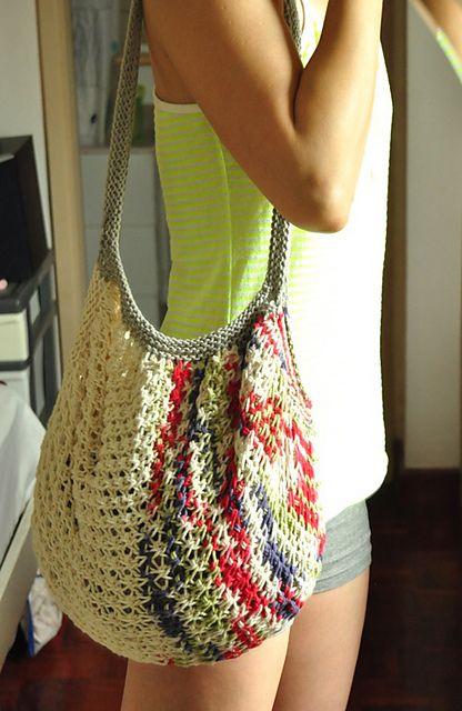 Knit Market Bag Pattern : Tote Knitting Patterns In the Loop Knitting