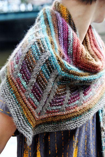 Stephen West Knitting Patterns : Variegated Yarn Knitting Patterns In the Loop Knitting