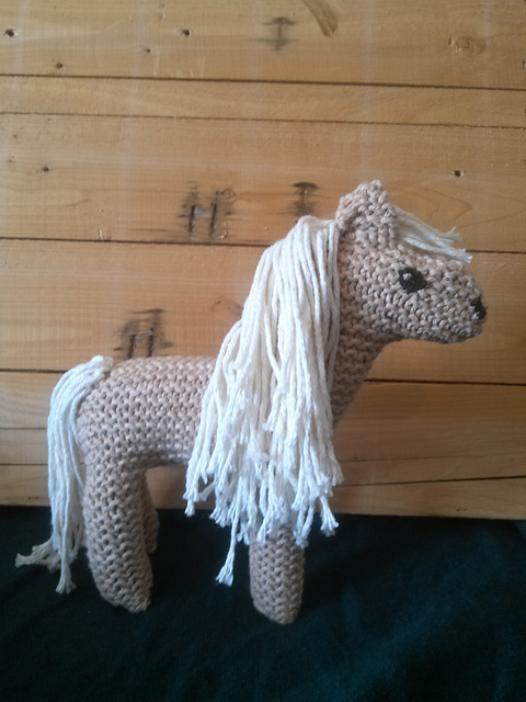 Knitting Pattern Toy Horse : Horse and Other Equine Knitting Patterns In the Loop ...