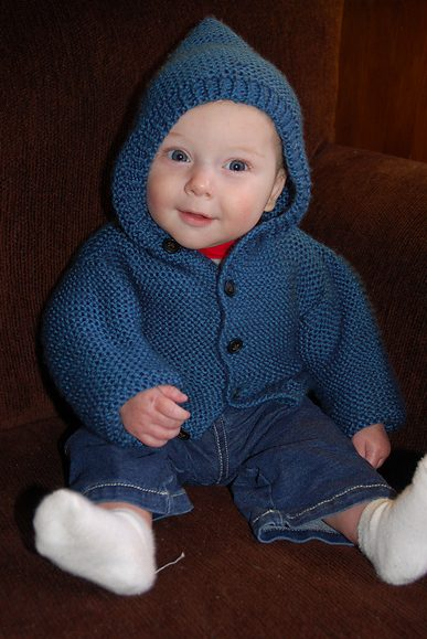Knitting Pattern Hoodie Child : Little One Hoodie Knitting Patterns In the Loop Knitting