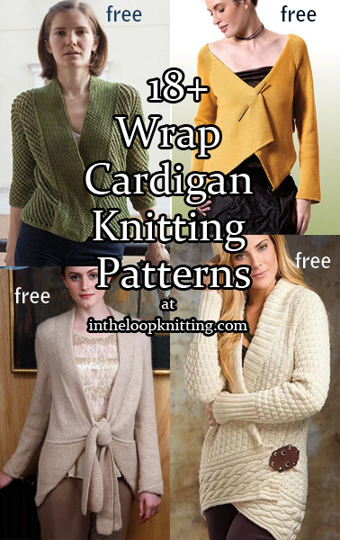 Wrap Cardigan Knitting Patterns