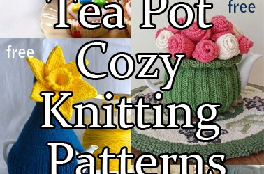 Teapot Cozy Knitting Patterns