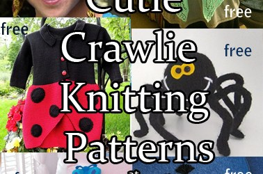 Cutie Crawlies: Butterflies and Bugs Knitting Patterns