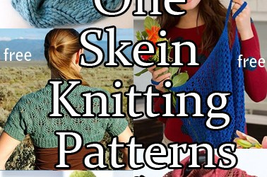One Skein Knitting Patterns