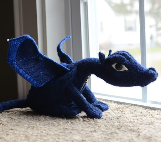 Knitting Pattern Dragon Hat : Dragon Knitting Patterns In the Loop Knitting