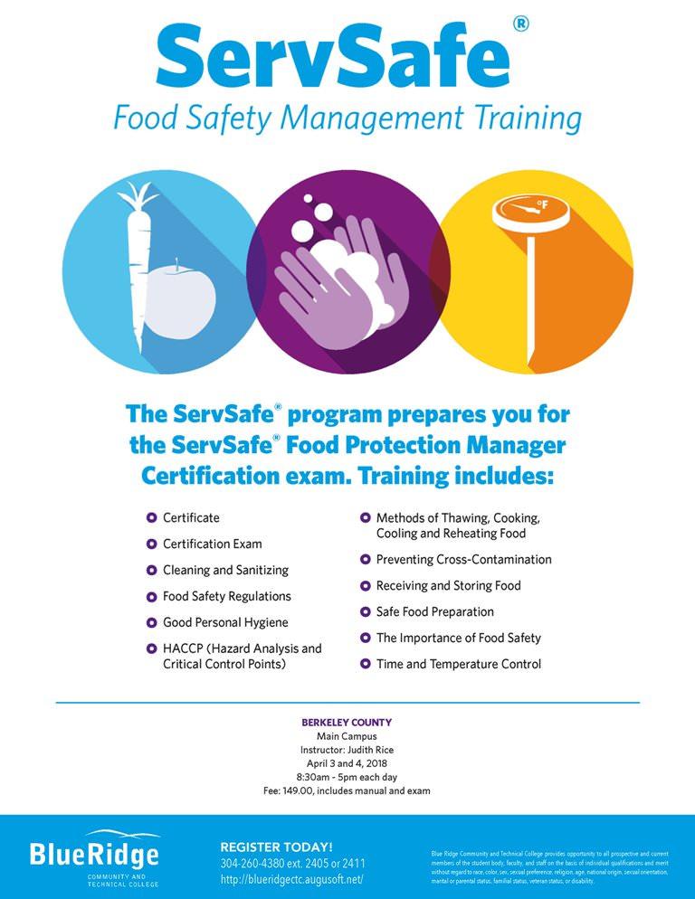 Servsafe Food Safety Manager Foodstutorial