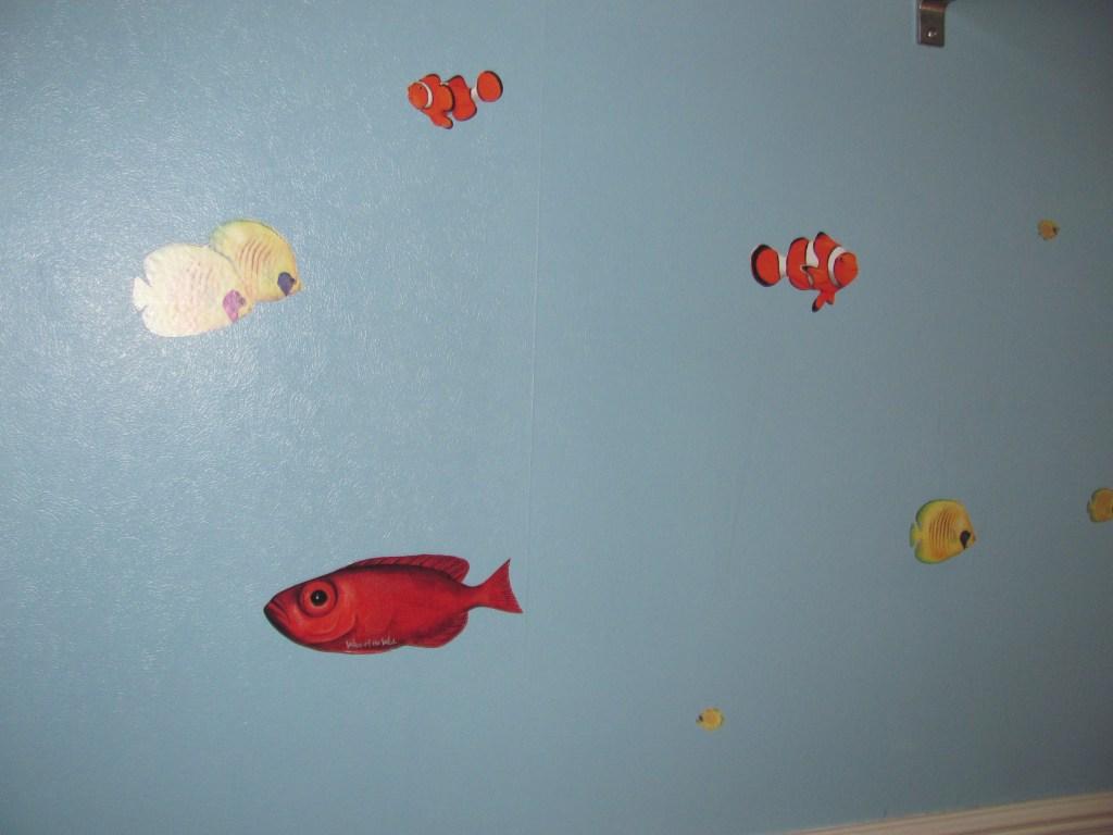 aquarium wall stickers