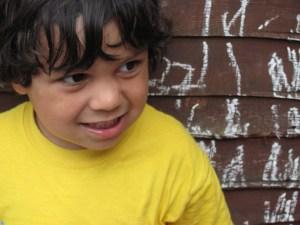 toddler boy yellow top