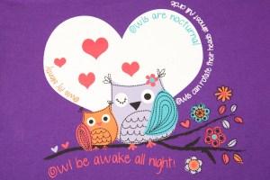 pyjama pajama owls mood board