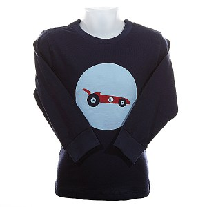 funky giraffe racing car top