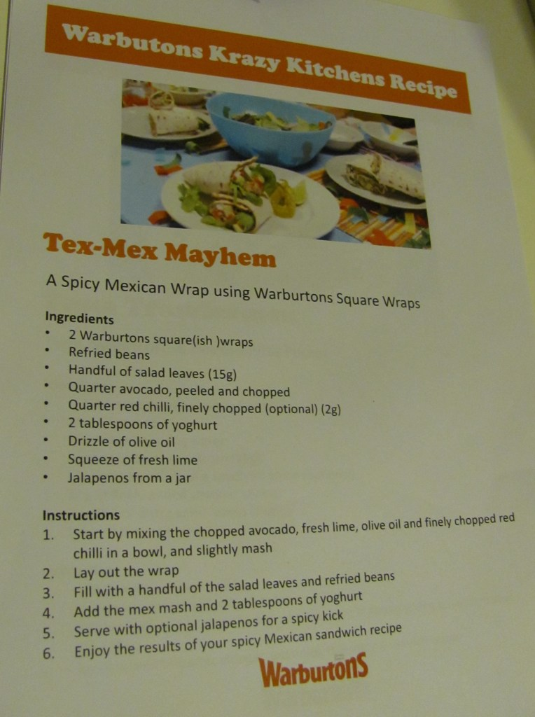 tex mex mayhem wrap recipe