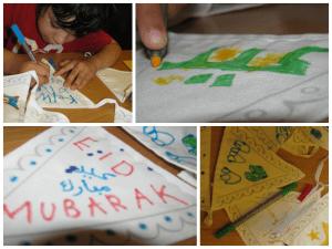 making eid decorations