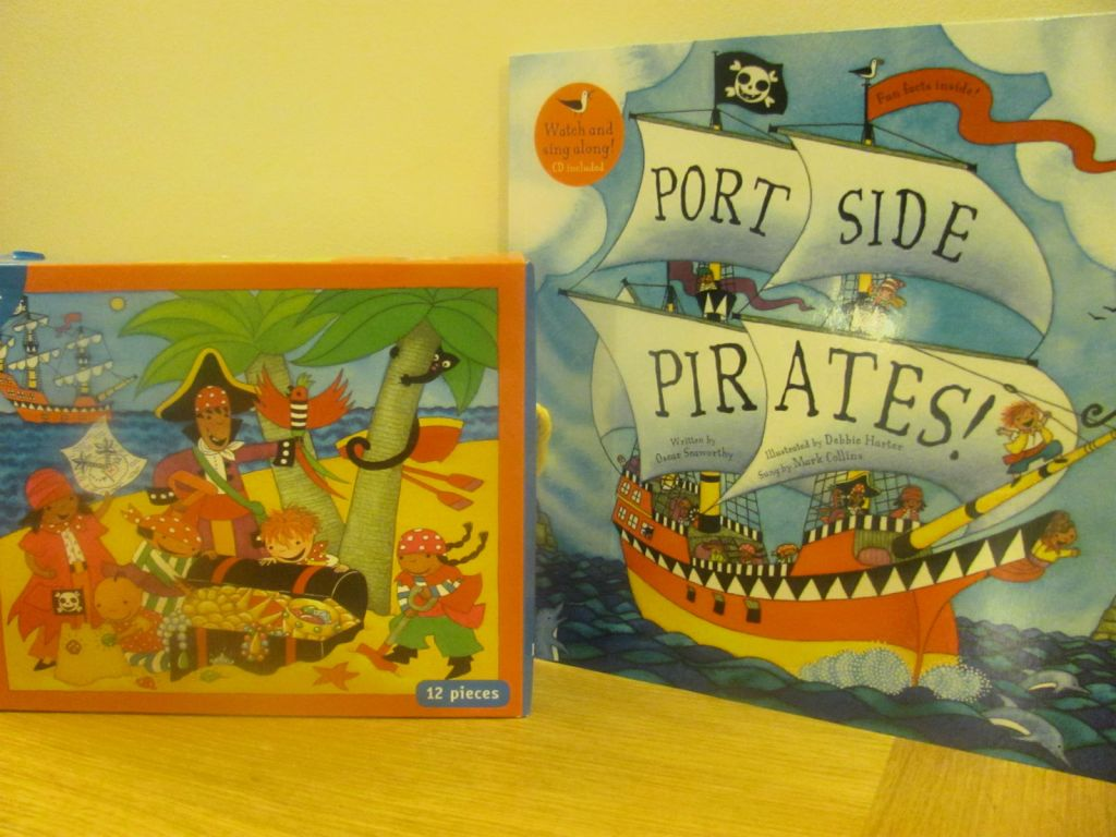 barefoot books port side pirates