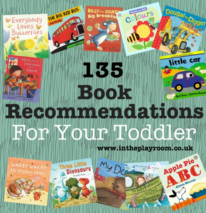 135 Book Recommendations for Toddlers