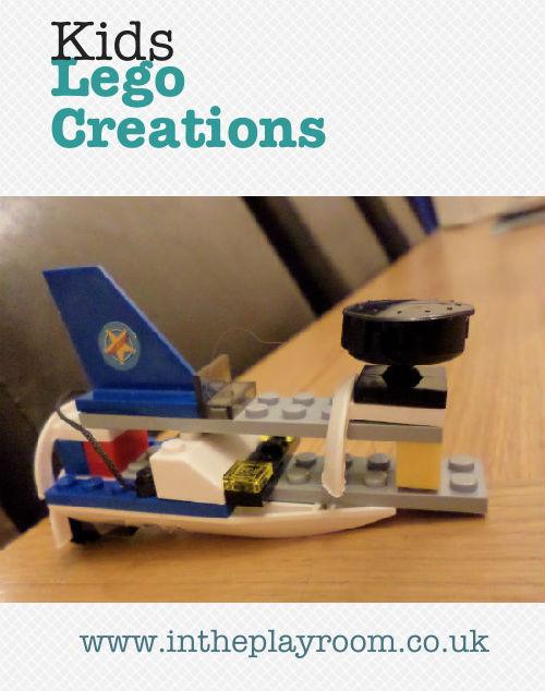 kids lego creations
