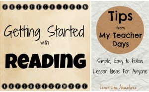 tips getting started reading for literacy activities