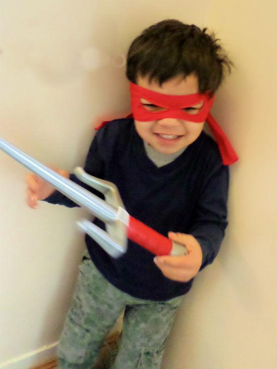 Teenage Mutant Ninja Turtles Raphael Ninja combat gear
