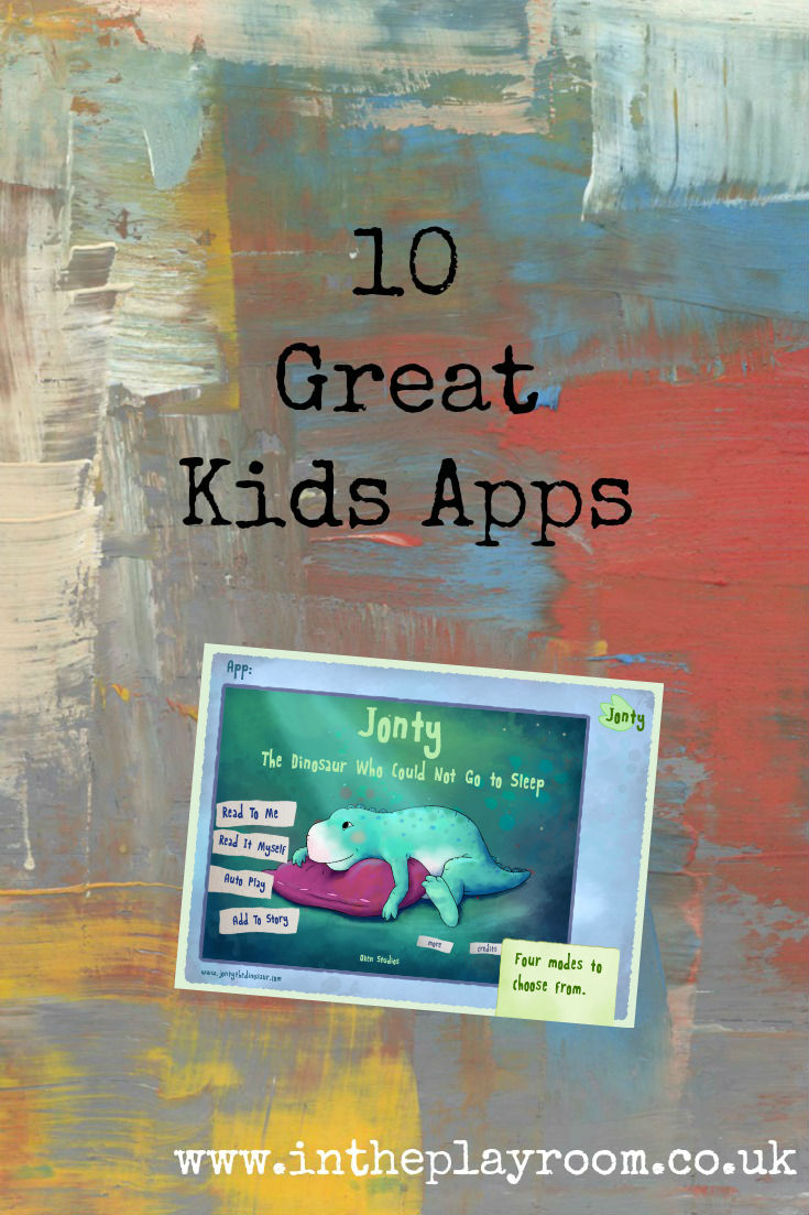 Our recommendations of 10 great apps for kids