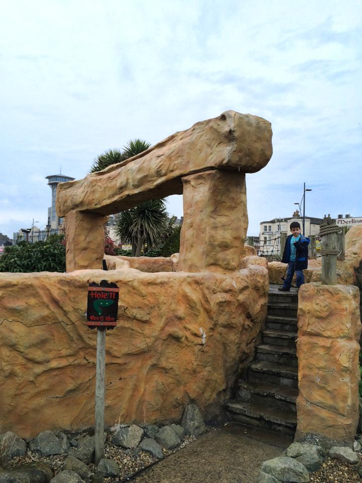 Pirate's Cove Crazy golf Great Yarmouth