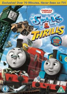 spills and thrills Thomas dvd