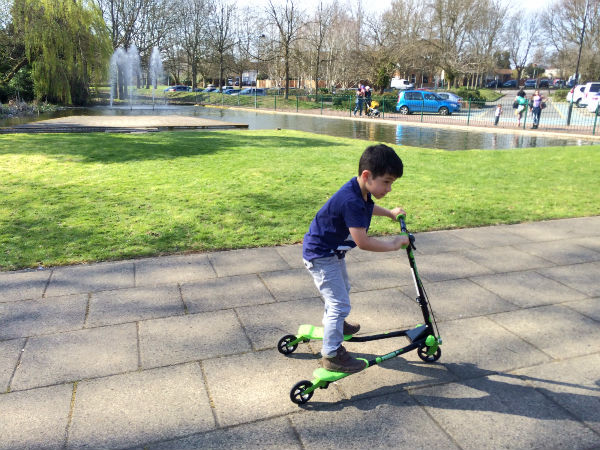yvolution y fliker scooter review