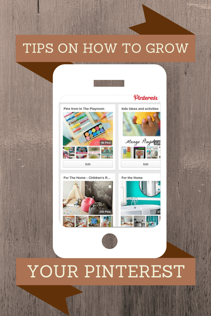 Top tips on how to grow your Pinterest following, drive traffic with Pinterest and get the most out of Pinterest!